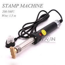 500W Electric soldering iron <b>hot stamping</b> Machine <b>Manual Hot Foil</b> ...
