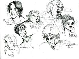 ic book faces by felikatt