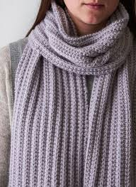 Ribbed Scarf Pattern Mesmerizing TwoRow Repeat Knitting Patterns In The Loop Knitting