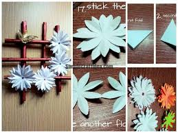 made wall hanging from paper simple craft ideas wall hanging with paper