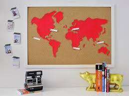Image Urbanfarm Co Originalmichelleedgemontdiycorkwallmapbeautyh Hgtvcom Diy Wall Art Make Custom Corkboard World Map Hgtv