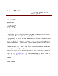 Perfect Cover Letter Sample For Job Application With Left Letter
