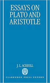 Amazon Com Essays On Plato And Aristotle 9780198236412 J L