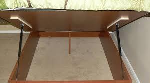 diy storage bed. DIY Replacement Shocks For Storage Beds Diy Bed