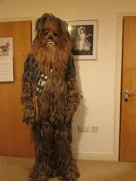 chewbacca costume supreme edition star wars fancy dress