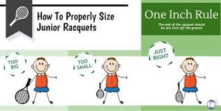 junior size how to properly size junior tennis racquets merchant of tennis