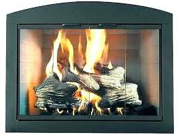 gas fireplace glass doors replacement arched door cleaning ceramic firepl