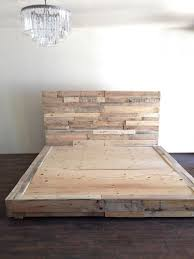 pallet furniture etsy. reclaimed wood platform bed base pallet natural twin full queen king cali california foundation headboard furniture etsy