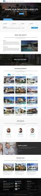 Real Estate Website Templates Impressive Pin By Traint On Website Templates Pinterest Psd Templates