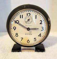 big ben alarm clock vintage wind up art loud bigben sound radio
