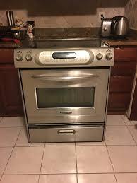 kitchenaid electric stove top troubleshooting sevenstonesinc com double oven marvellous
