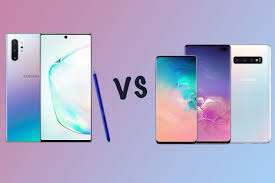 Samsung Note Comparison Chart Samsung Galaxy Note 10 Vs Galaxy S10 Whats The Difference