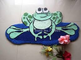 handmade animal frog bath rug gy rug machine washable rugs floor mat carpet to room tapis