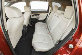 side view of the 2018 honda cr v s rear seat