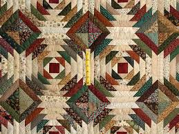 Pineapple Quilt -- outstanding made with care Amish Quilts from ... & ... Green Burgundy and Tan Pineapple Quilt Photo 4 ... Adamdwight.com