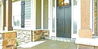 french door mahogany fiberglass patio sliding screen therma tru doors with sidelights