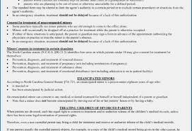 Document Template : Children's Medical Release Form Template Sample ...