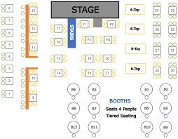 reserved seating chart creation and