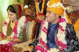 Image result for MS Dhoni and Sakshi