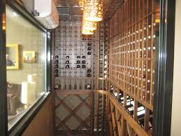Wine Cellar In Kitchen Floor The Wine Loft In Long Branch Nj Building Wine Cellars With