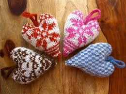 Knitted Heart Pattern Mesmerizing FairIsle Heart Knitting Pattern ⋆ Knitting Bee