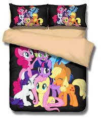3d my little pony bedding set beautiful horse