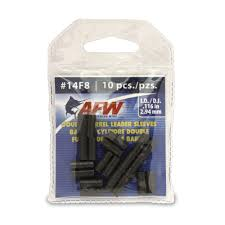 Afw Leader Sleeves Size Chart American Fishing Wire Double Barrel Crimp Sleeves