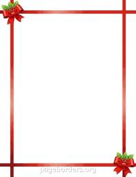 Free Holiday Borders Templates Design Xmas Border Christmas To Print