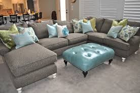 Blue Leather Sectional Sofa And Also Attractive Navy Blue Sectional Sofa  (View 4 of 20