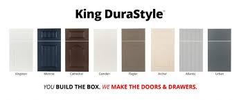 king durastyle custom cabinet door program
