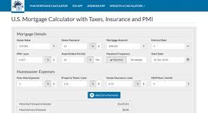 Usmortgage Calculator Access Usmortgagecalculator Org U S Mortgage Calculator With Taxes