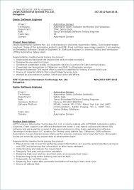 Sample Software Engineer Resume Software Test Engineer Resume Sample