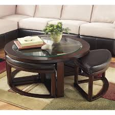 appealing dark circle acient wood coffee table with glass top designs amazing ideas low round contemporary