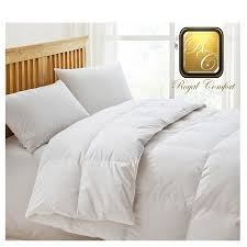 KING SIZE ROYAL COMFORT GOOSE FEATHER & DOWN QUILT/DUVET/DOONA ... & Royal Comfort Goose Feather & Down Quilt DB Adamdwight.com
