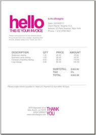 invoice template design 13 best invoices images invoice example bill template invoice