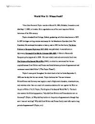 world war i and ii essay essay causes of world war 2