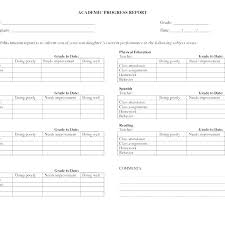 Attractive Business Progress Report Template Example V M