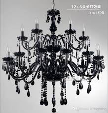 beautiful black glass chandelier black murano glass crystal chandelier light modern black