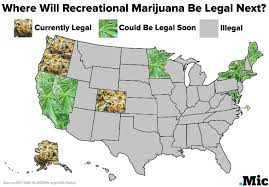 where in the united states is marijuana legal