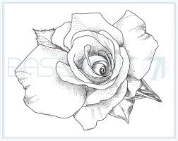 My favorite color vase is green. Rose Coloring Page Printable Flower Adult Colouring Page Of Etsy