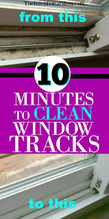 Clean Window Tracks | Cleaning Hacks | Cleaning Tips | Clean Windows |  Cleaning