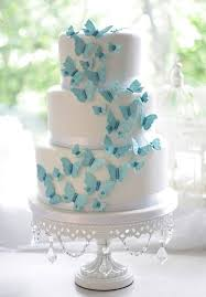 Want A Butterfly Wedding Here Are Some Ideas Wedding Cakes