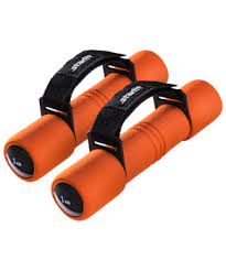 <b>Гантель</b> неопреновая <b>DB</b>-<b>203</b> 1 кг, оранжевая <b>STARFIT</b> - Спорт96 ...