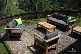 ando teak outdoor furniture set
