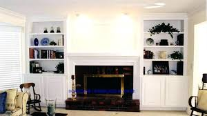 built ins around fireplace bookshelves ideas surround in cabinets