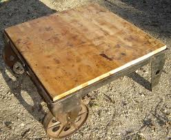 coffee tables recycling the past