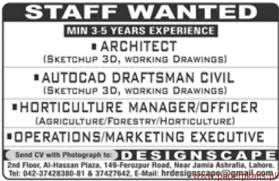 Autocad Draftsman Architect Autocad Draftsman Civil And Other Jobs 2018