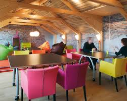 design fun office. Vibrant Colours And Shapes Inspire Creativity, This Office Design Fun