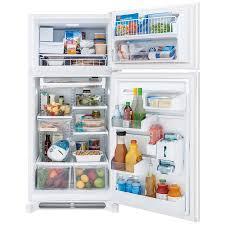 Kitchen Appliance Shop Shop Frigidaire Gallery 183 Cu Ft Top Freezer Refrigerator With
