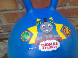 space hopper outdoor bouncer thomas friends printed on 4 books chuggington wooden puzzle